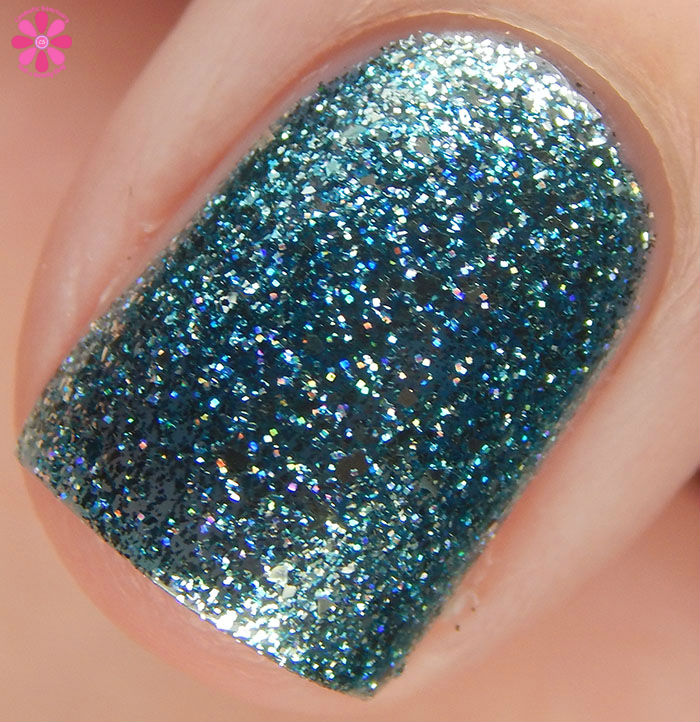 KBShimmer Birthstone 2016 Collection Blue Topaz Swatch