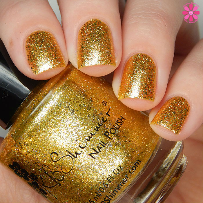 KBShimmer Birthstone 2016 Collection Citrine Swatch