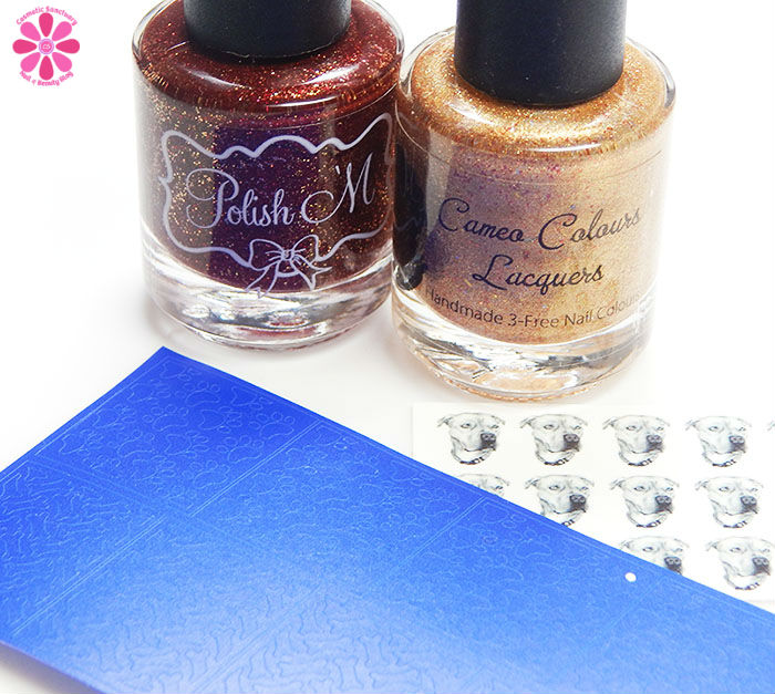 Polish 'M & Cameo Colours Lacquers Polish For Pit Bulls Holiday Edition