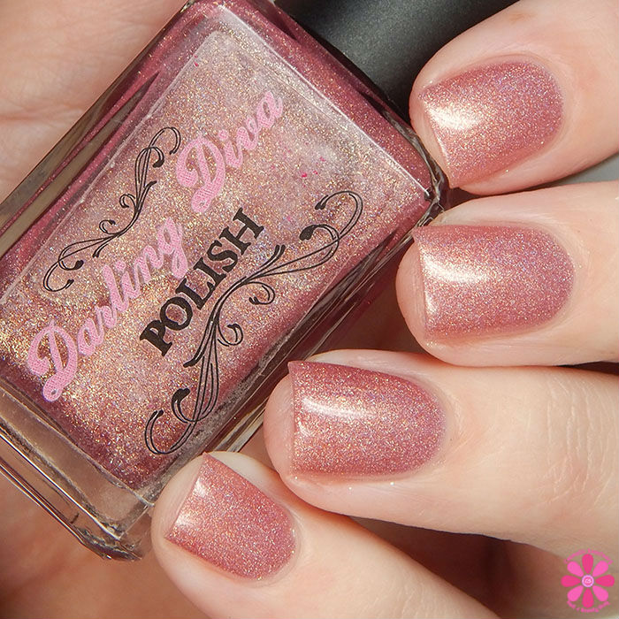 A Box, Indied January 2016 New Year, New You Darling Diva Polish Dawn Of A New Day Swatch