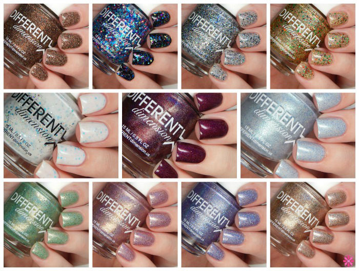 DIFFERENT dimension Babes In Toyland Winter 2015 Collection Swatches & Review