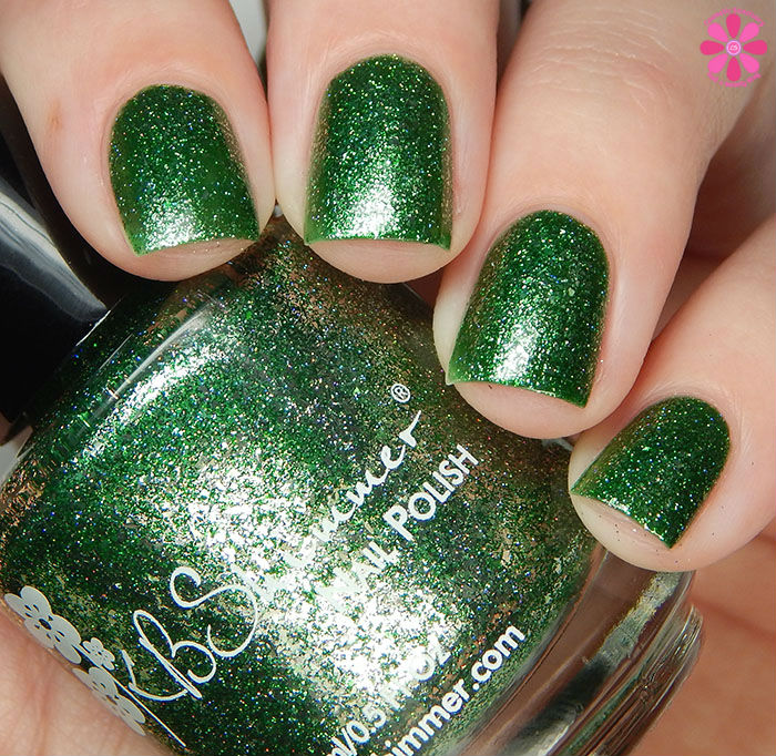 KBShimmer Birthstone 2016 Collection Emerald Swatch