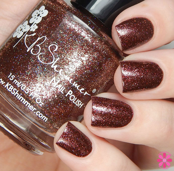 KBShimmer Birthstone 2016 Collection Garnet Swatch