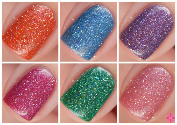 Glam Polish Alphabet City Collection Overview