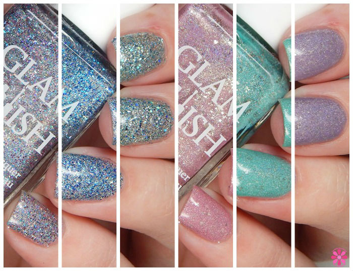 Glam Polish Limited Edition Wonderland Collection Swatches & Review | Wintuk, Eight Below, Ice Age, Glacier Bay, Frostbite & Whiteout