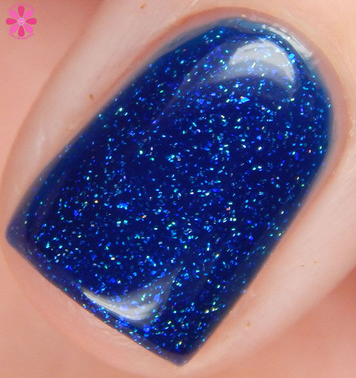 Great Lakes Lacquer Winter 2015 Collection: Doctor's Orders Infinite Hope Swatch Macro