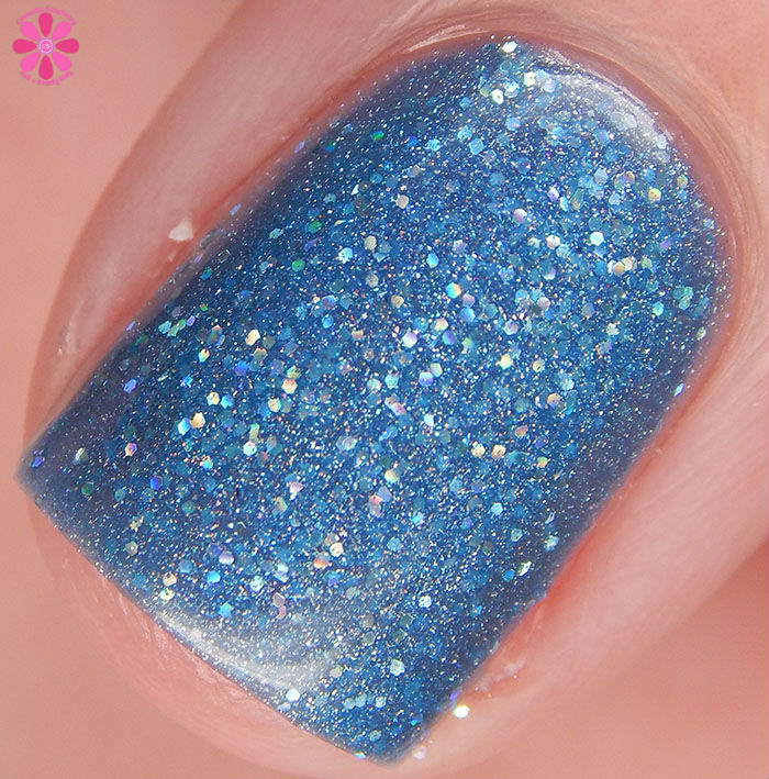 Glam Polish Alphabet City Collection It Sucks To Be Me Swatch Macro