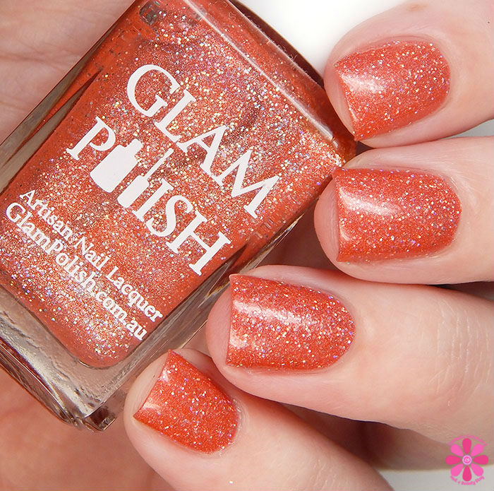 Glam Polish Alphabet City Collection Loud As The Hell You Want Swatch