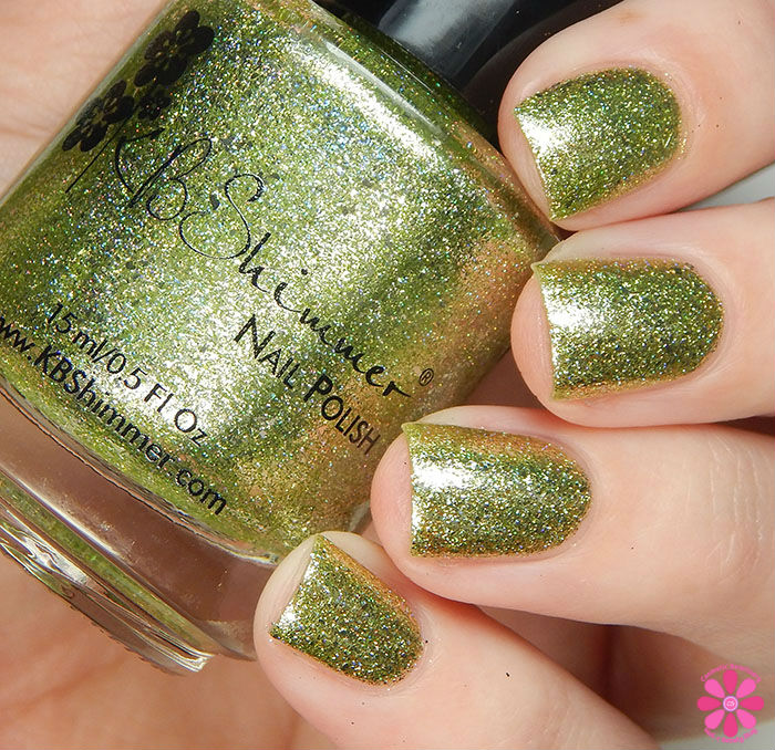 KBShimmer Birthstone 2016 Collection Peridot Swatch