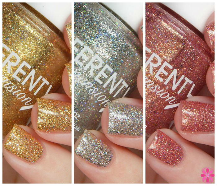 DIFFERENT dimension The Dream Team Trio Swatches & Review
