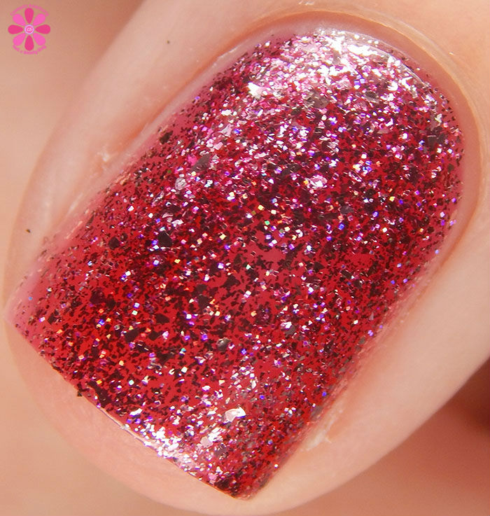 KBShimmer Birthstone 2016 Collection Pink Tourmaline Swatch