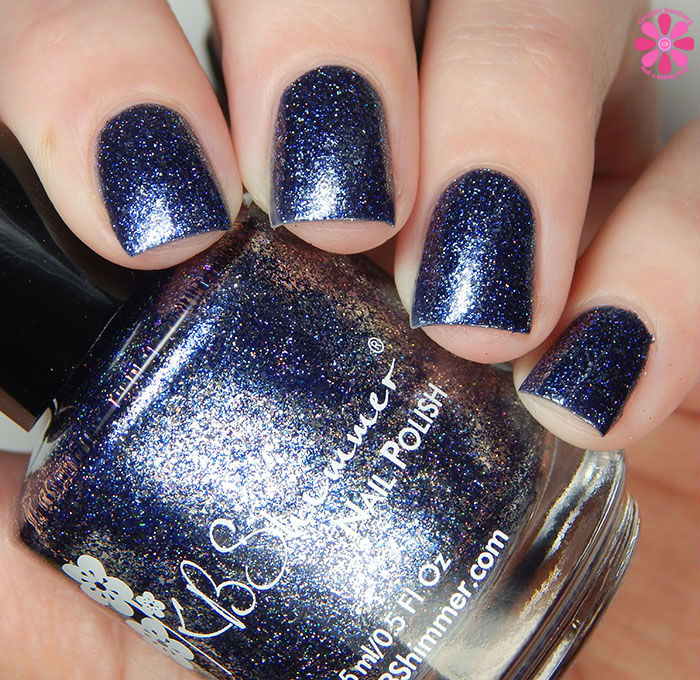 KBShimmer Birthstone 2016 Collection Sapphire Swatch