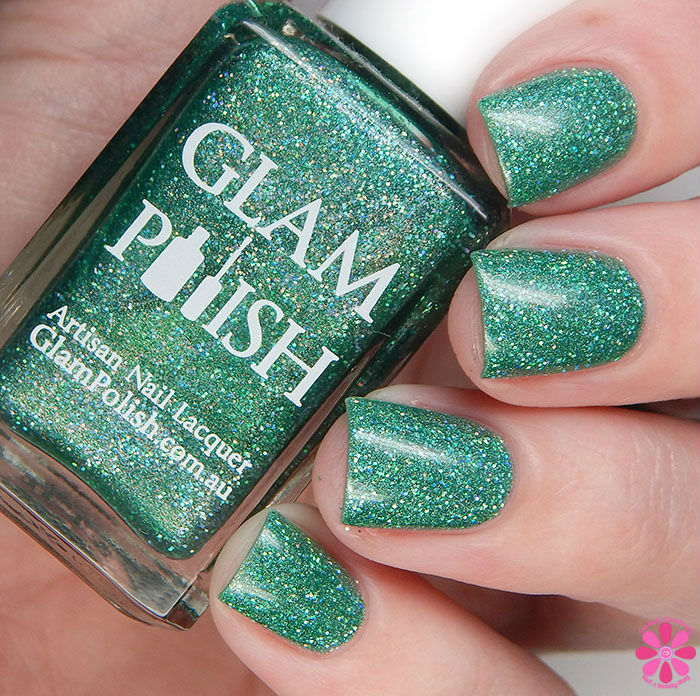 Glam Polish Alphabet City Collection School For Monsters Swatch