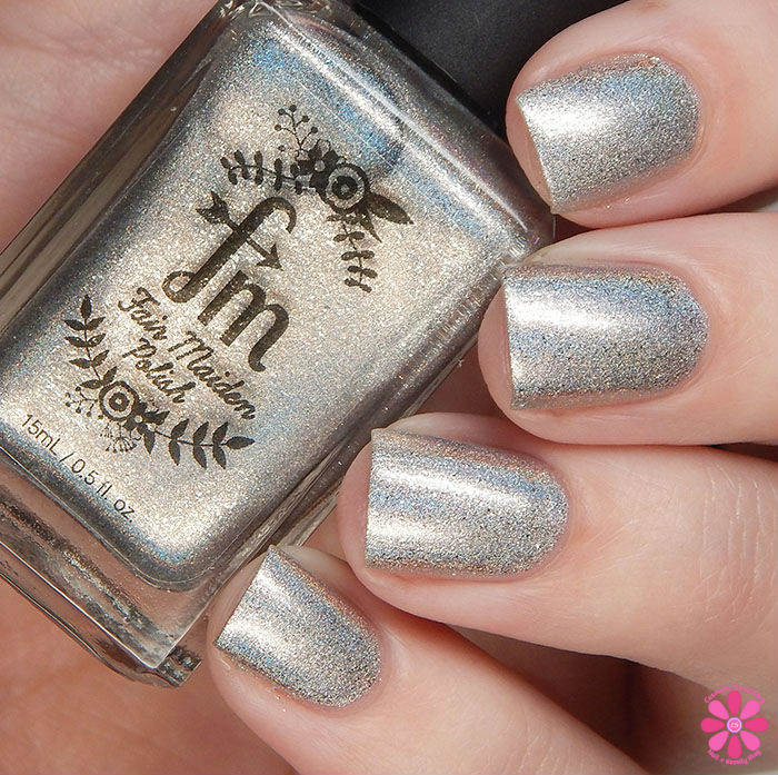 Fair Maiden Polish Cheers! To A New Year! Trio The Final Countdown Swatch