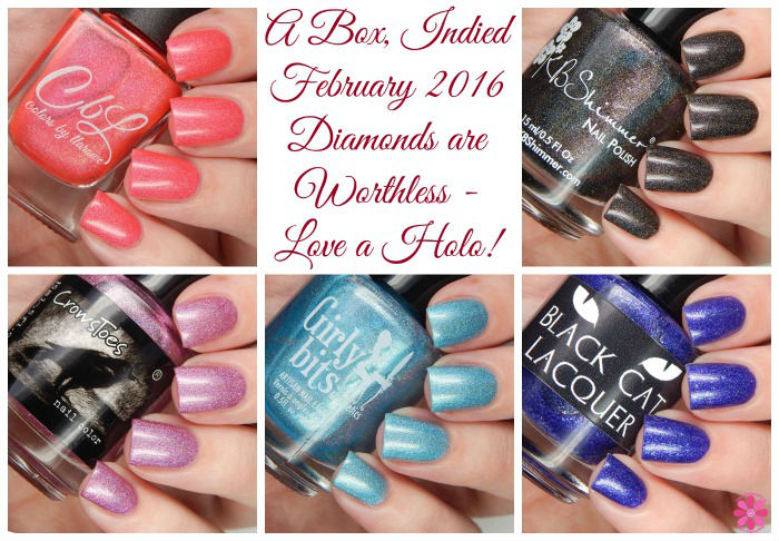 A Box, Indied February 2016 Diamonds Are Worthless - Love A Holo!