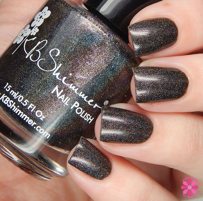 A Box Indied February 2016 Diamonds are Worthless Love a Holo Kbshimmer I Want Your Texts Swatch
