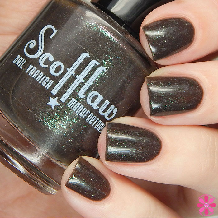 Scofflaw Nail Varnish Winter 2016 Collection An American Wookie in London Swatch