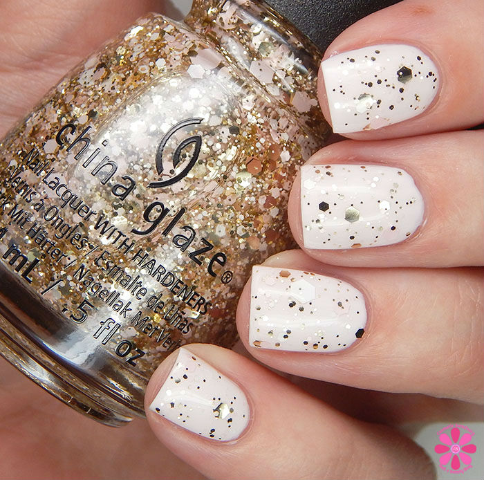 China Glaze GLitter Me This over Let's Chalk About It