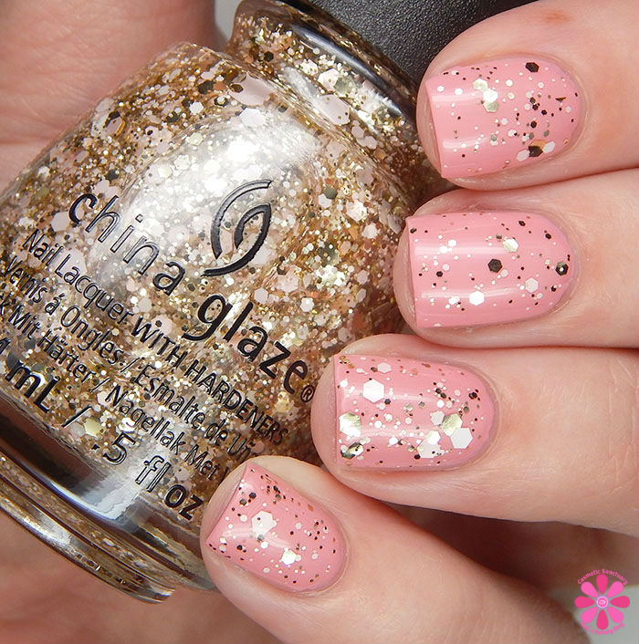 China Glaze Glitter Me This Over Pink Or Swim