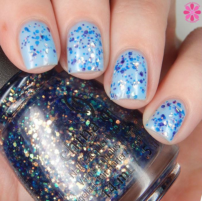 China Glaze Moonlight The Night Over Don't Be Shallow Up
