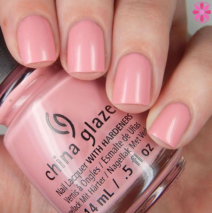 China Glaze Pink Or Swim Up