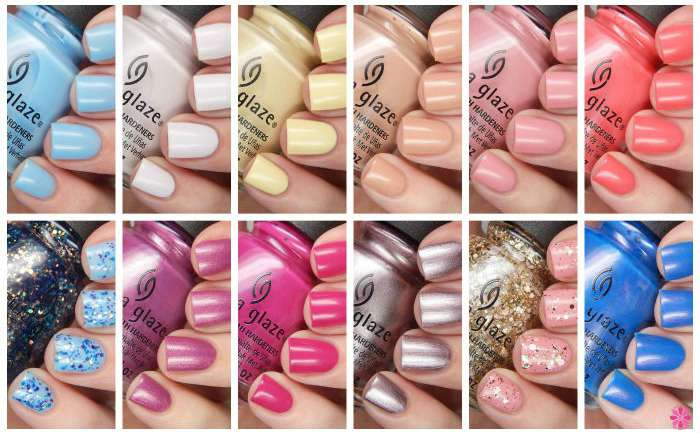 China Glaze Spring 2016 House Of Colour Review & Giveaway