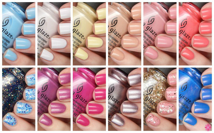 China Glaze Spring 2016 House Of Colour Review U0026 Giveaway