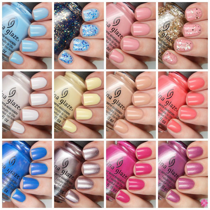 China Glaze Spring 2016 House Of Colour Overview