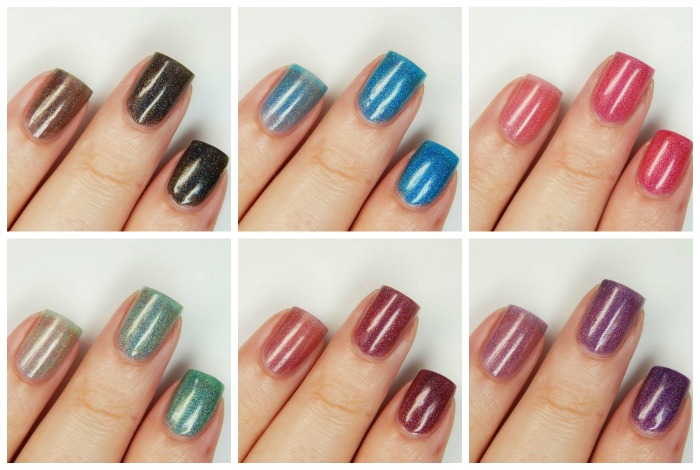 Chirality Nail POlish Collage Cover