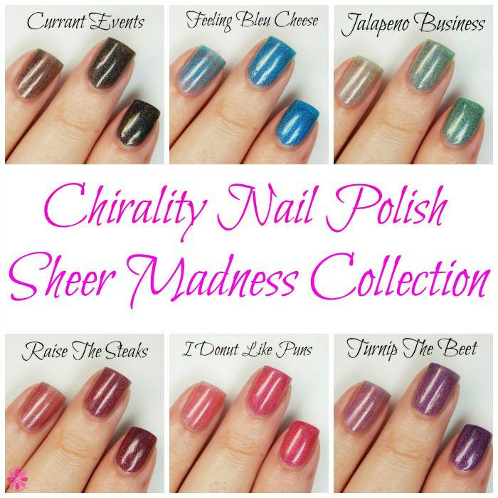 Chirality Nail Polish Sheer Madness Collection
