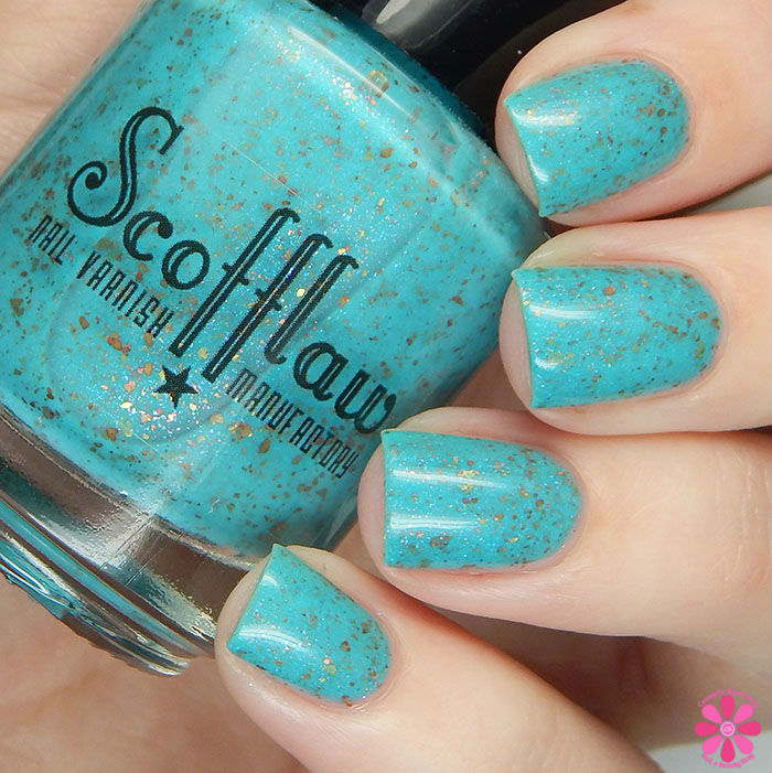 Scofflaw Nail Varnish Winter 2016 Collection Diamond Dogs Swatch