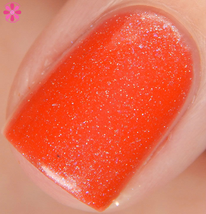 Scofflaw Nail Varnish Winter 2016 Collection Fire Imp Swatch