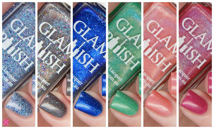 Glam Polish Queen Of Mean Collection
