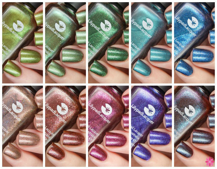 Lilypad Lacquer This Life Collection