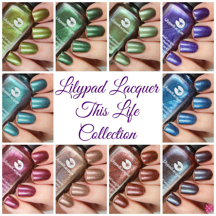 Lilypad Lacquer This Life Collage Cover