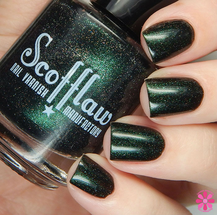 Scofflaw Nail Varnish Winter 2016 Collection Love Letter to Loki Swatch