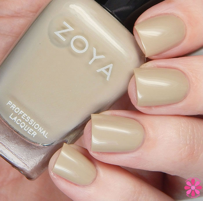 Zoya Whispers Collection Misty Swatch