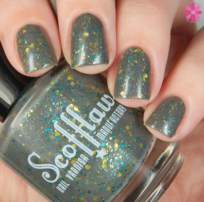 Scofflaw Nail Varnish Winter 2016 Collection Road to Nowhere Swatch