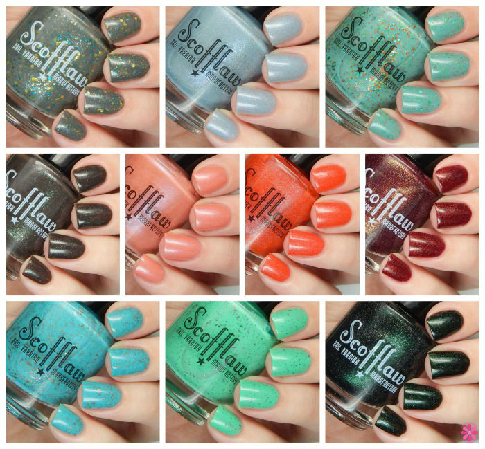 Scofflaw Nail Varnish Winter 2016 Collection