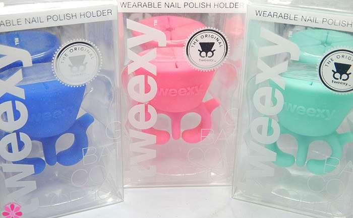 Tweexy The Wearable Nail Polish Holder