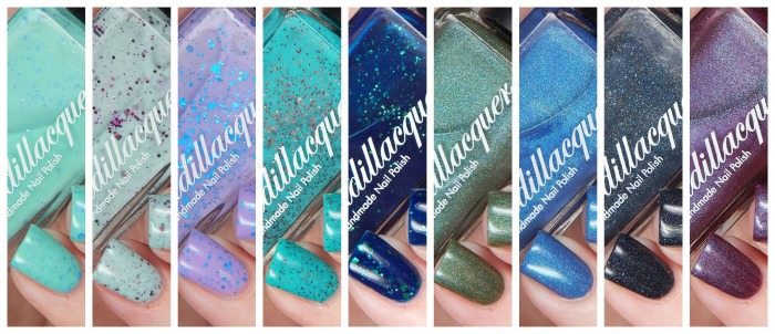 Cadillacquer Petrichor Collection at Color4Nails
