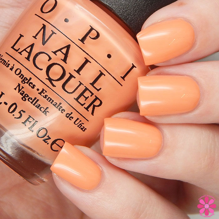 OPI Spring 2016 New Orleans Collection Review & Giveaway | Crawfishin' For A Compliment Swatch