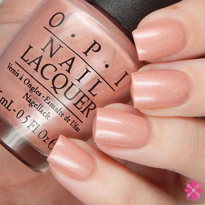 OPI Spring 2016 New Orleans Collection Review & Giveaway | Humidi-Tea Swatch