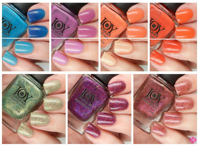 Joy Lacquer Spring 2016 Collage