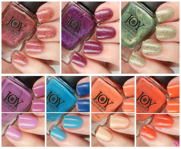 Joy Lacquer Changing Hues Collection Overview