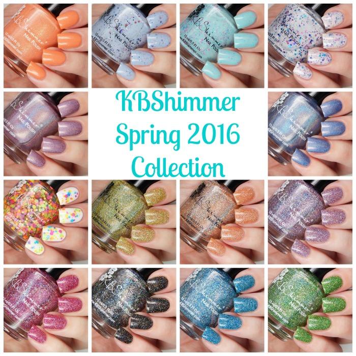 KBShimmer Spring 2016 Collage