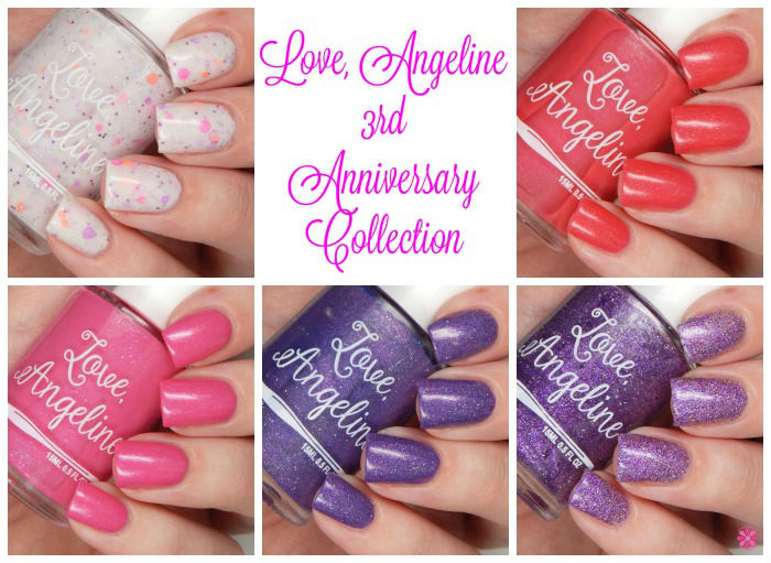 Love Angeline 3rd Anniversary Collection Collage