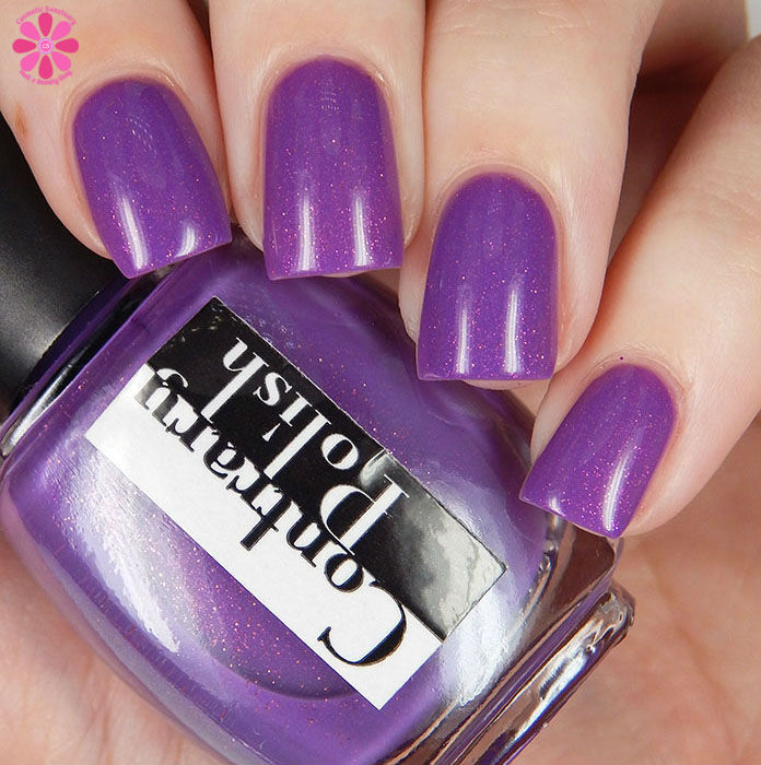 March 2016 A Box Indied Contrary POlish Read My Tulips Up