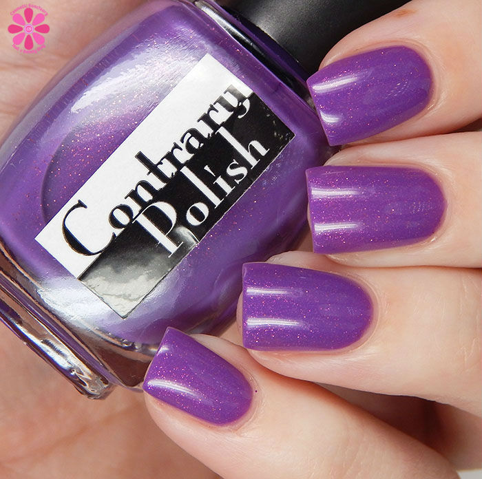 March 2016 A Box Indied Contrary POlish Read My Tulips