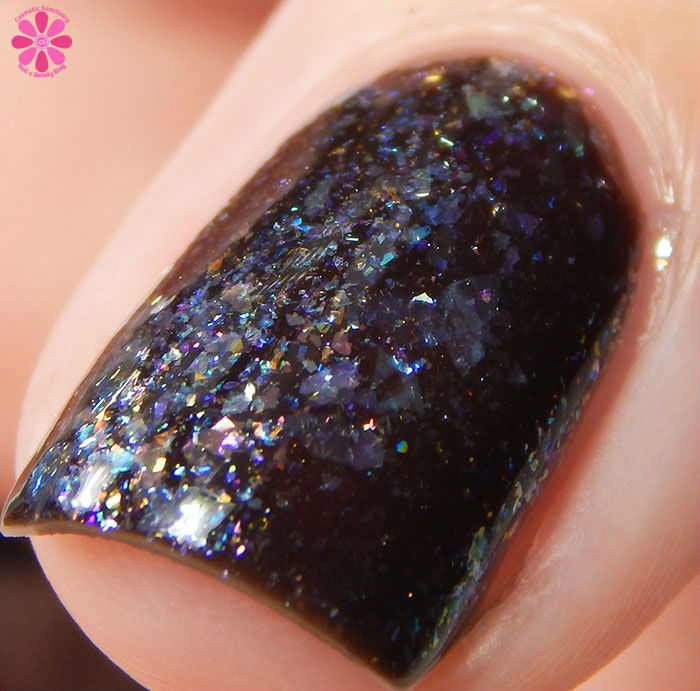 March 2016 A Box Indied CrowsToes Nail Color Mad As A March Hare Front Macro